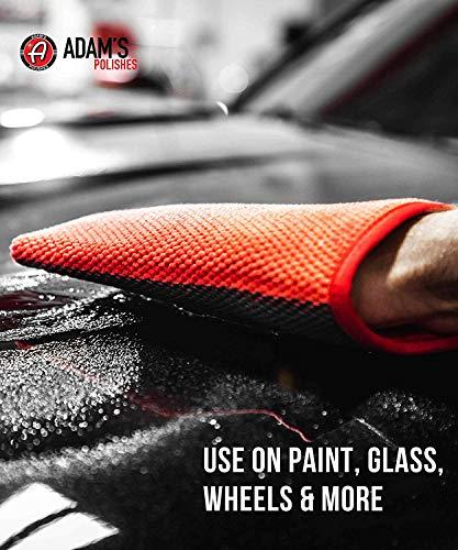Adam's Premium Clay Bar Mitt - Medium Grade Clay Material - Easy Car  Detailing Clay Bar Alternative Quickly Removes Bonded Contamination to Your