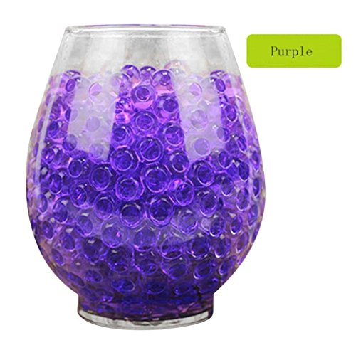 DZT1968 3000 PCS Non-fade non-toxic Water Bullet Balls Water Beads Mud Grow Magic Jelly Balls - Glare Water