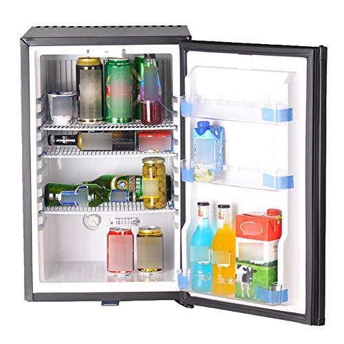 Cheap SMETA 110V 12V 1.6 cu ft Compact Refrigerator with Reversible Door,Low Noise Beverage Car Cooler Fridge,BLACK