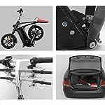 Bici-Elettrica-et-Due-Ruote-Mini-Pedal-Electric-Car-Facile-Folding-And-Carry-Design-con-Data-Display-LCD-Porta-USB-di-Ricarica-EsternaBianca