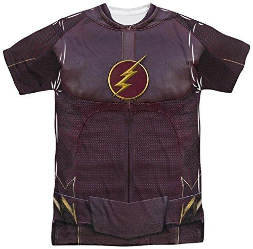 The Flash - Flash Uniform T-Shirt Size M (The Flash Cw Costume)