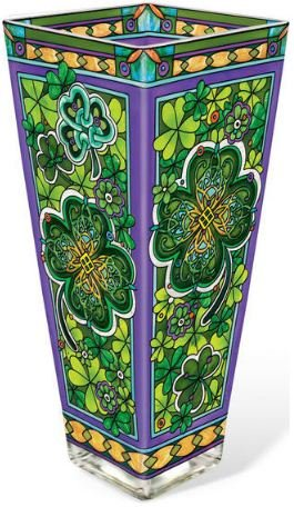 AMIA, Celtic - Emerald Isle Vase Large