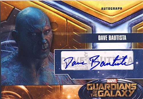 2014 Guardians of the Galaxy Trading Card Set Autograph Dave Bautista as Drax