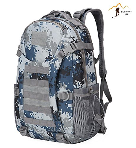 Jungle Oxford New top 511 zaino Outdoor viaggio zaino molle Big Bag borse camouflage Tactical tasche Wild borsa zaino da escursionismo arrampicata zaino, navy camouflage