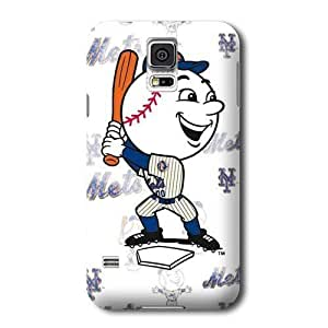 Allan Diy S5 case cover, MLB - New York Mets - Mr. Met Mascot - Repeat Distressed with Mr Met - Samsung Galaxy S5 case cover - High 5E4iLLgRTAa Quality PC case cover