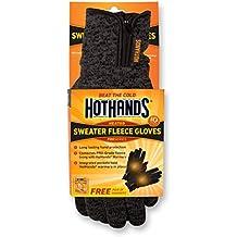 HotHands Unisex Sweater Fleece Gloves-Small/Med