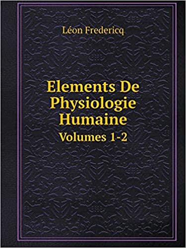Elements Physiologie Humaine