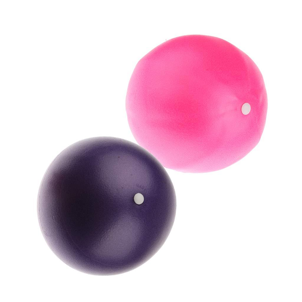 perfk 2 x 15cm Mini Yoga Ball Pelota Resistente Anti-Pinchazo de ...