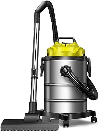 Aspiradora, Aspirador pequeño de Gran Potencia de Alta Potencia for Uso doméstico y seco de 1200 w Aspirador pequeño, Amarillo (30x46.5cm) Xuan - Worth Having: Amazon.es: Hogar