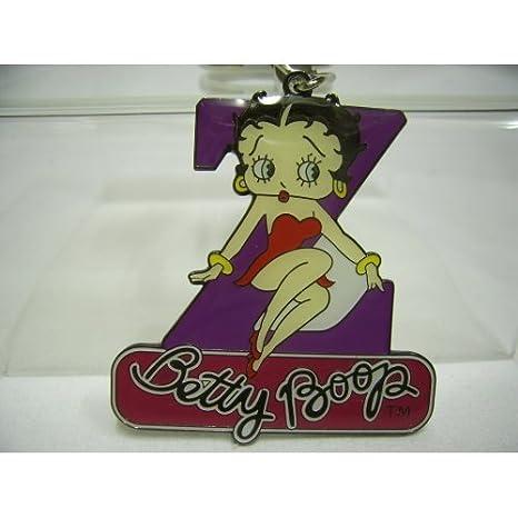 Llavero de letra Z, Betty Boop: Amazon.es: Hogar