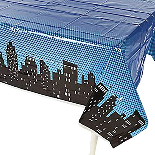 Superhero Plastic Table Cover 54