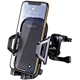 DesertWest Car Phone Mount Air Vent Phone Holder for Car Adjustable with 360 Degree Rotation, Compatible iPhone X/8/7P/ 5SE, Galaxy S6/7 Note 8, Huawei, Other Smartphone.