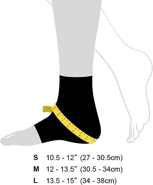 Running Manchon de Compression pour Cheville BRACOO FE91 Chevill/ère Sport: Basket-Ball CrossFit