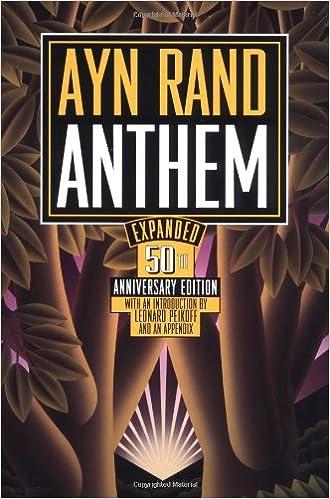 Amazon Com Anthem 9780452281257 Ayn Rand Leonard Peikoff Books