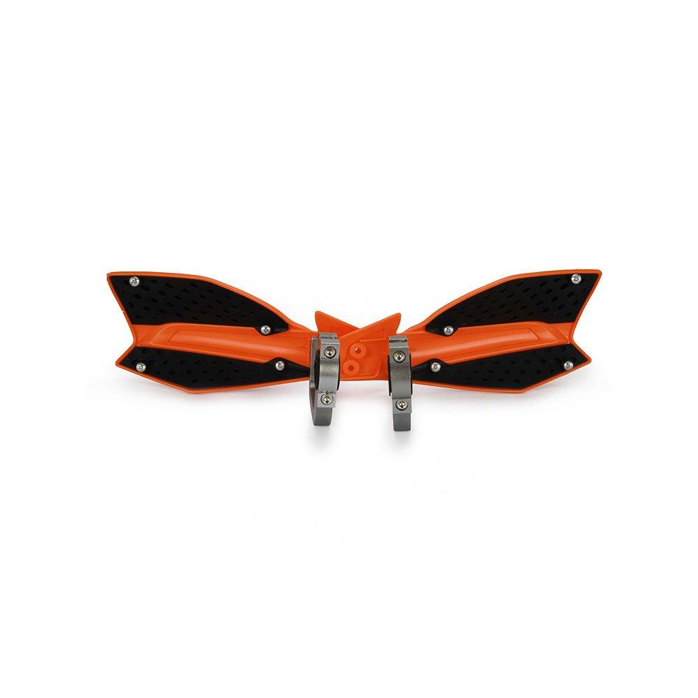Red Motorcycle Handguards Hand Guards Dirtbike Handlebar 7//8 1 1//8 For Honda CRF250R CRF250X CRF250L CRF450R CRF450X Rebel Master 140 Universal