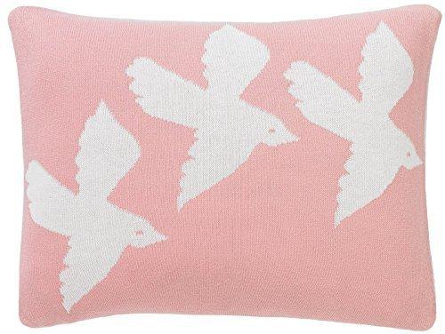 DwellStudio Knitted Boudoir Pillow- Birds by DwellStudio ()