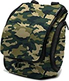 Compact Hanging Toiletry Bag, Personal Organizer for Men & Women | Rugged & Water Resistant with...