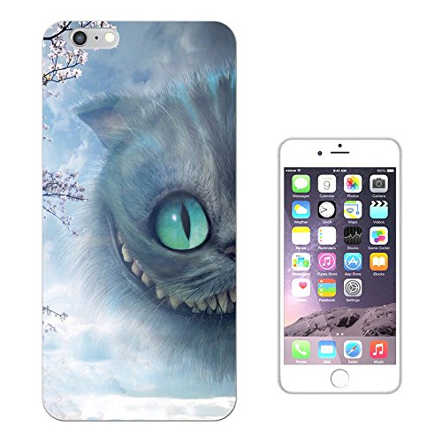 "c1021 - Cool Cheshire Smiling Grinning Naughty Cat Alice Fairy Tale Design iphone 7 (4.7"") Fashion Trend Silikon Hülle Schutzhülle Schutzcase Gel Rubber Silicone Hülle"