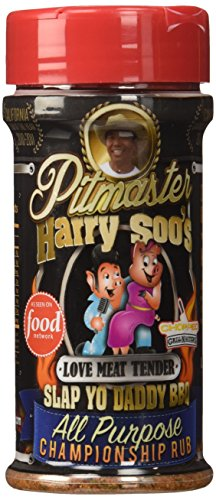 Pitmaster Harry Soo's Slap Yo Daddy BBQ Rubs - ALL NEW (All Purpose Championship Rub - Love Meat Tender, 6 oz