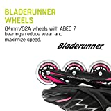 Bladerunner by Rollerblade Advantage Pro XT Women's Adult Fitness Inline Skate, Black and Pink, Inline Skates