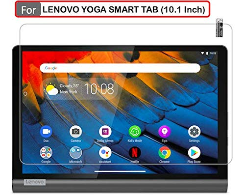 ARMOUR GUARDS 9H Screen Protector Guard | Tempered For LENOVO YOGA SMART TAB (10.1 Inch) Full Screen Coverage Model Number ZA540019IN