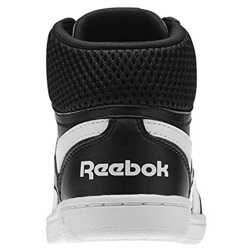 Reebok Jungen Royal Prime Mid Turnschuhe Schwarz / Weiß (Schwarz / Weiß)