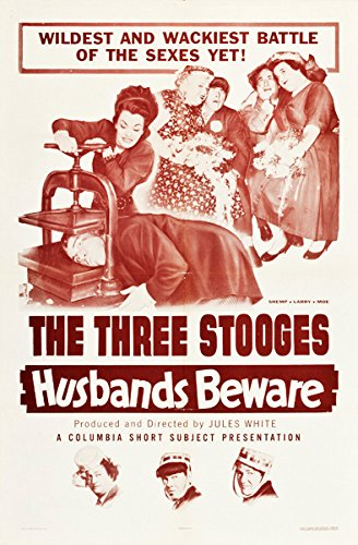 """The 3 Stooges  Movie Poster  Replica 13x19/"""" Photo Print"""
