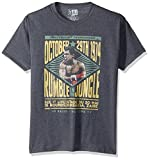 American Classics Unisex Muhammad Ali Rumble Adult Short Sleeve T-Shirt, Black Heather, Large