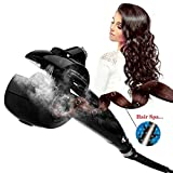 Upgraded Professional curling wands Automatic Hair Steam Curler with LED-digital-display and ceramic heater