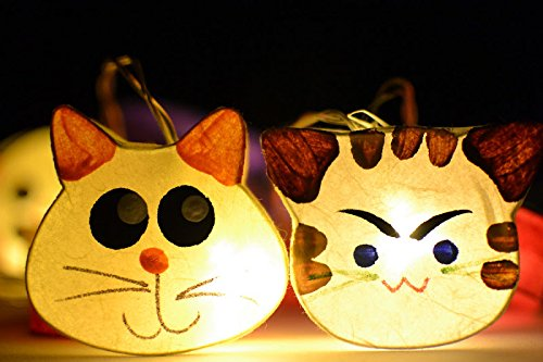Cat String Patio Lights in US - 3