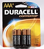 Duracell Coppertop 04261 Alkaline Battery, 1.5 Volt, Aaa, Card 8 (Pack of 10)