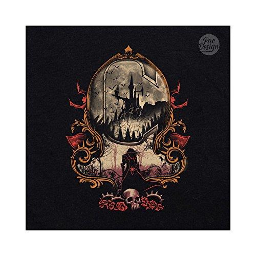 Killer Killer Killer Castlevania Felpa Felpa Felpa PacDesign Donna The Black VT0128A Vampires qZwaHwI
