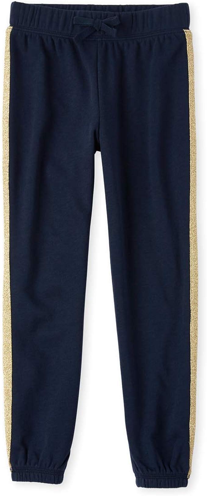 The Childrens Place Girls Skinny Solid Front Zip Pocket Jeggings Leggings