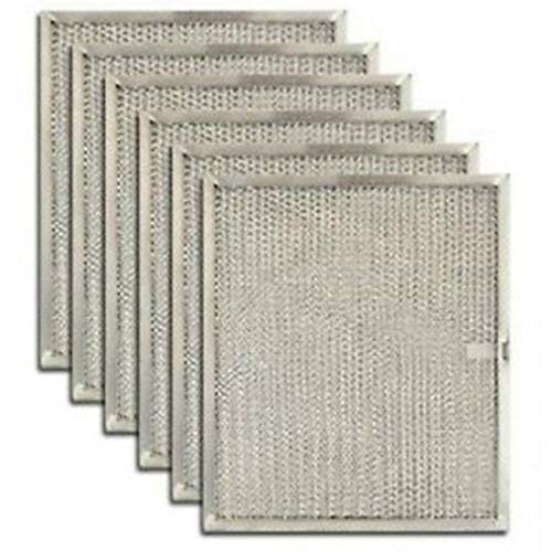 6-Pack Range Hood Charcoal Filter for Broan and Nutone 99010299 Clean Cooking Kitchen Supplies