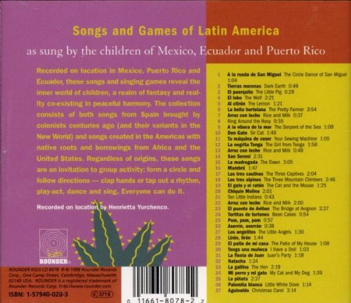Various Artists - El Lobo: Songs & Games of Latin America - Amazon.com Music