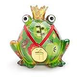 FRENCH DECORATIVE gift idea frog Happy birthday E
