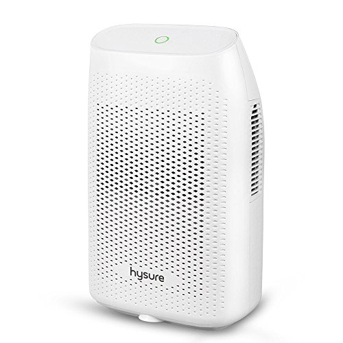 Dehumidifier for home, hysure 2000ml(68fl.oz) Water Tank, 2200 Cubic Feet(269sq.ft) Mini Dehumidifier Compact and Portable Dehumidifier for Damp Air, Mold, Moisture in Home, Kitchen, Bedroom, Caravan, by Hysure