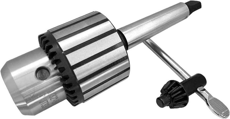 """KEGOMAS - 1/32"""" - 5/8"""" Heavy Duty Drill Chuck with Chuck Keys and MT2 Shank 