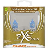 SYLVANIA - 9005 (HB3) SilverStar zXe GOLD High Performance Halogen Headlight Bulb - Bright White Light Output, Best HID Alternative, Xenon Charged Technology (Contains 2 Bulbs)