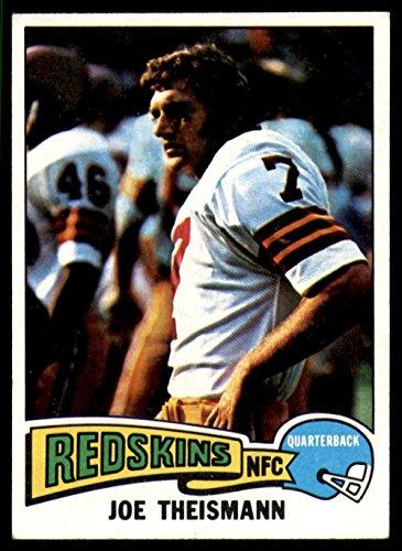 1975 Topps #416 Joe Theismann Excellent+ RC Rookie (Joe Theismann Football)