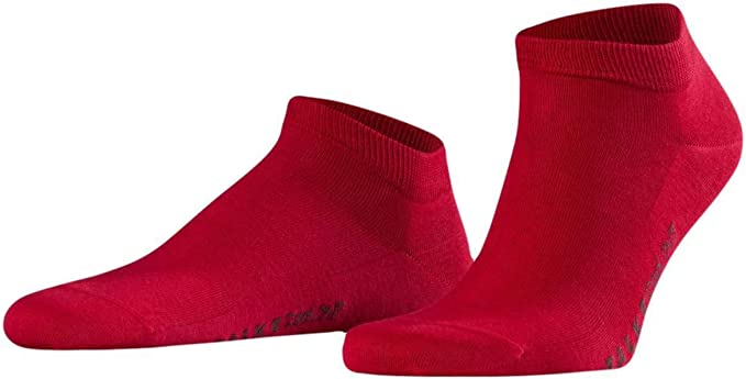 Falke Mens Walkie Light Midcalf Socks Scarlet Red