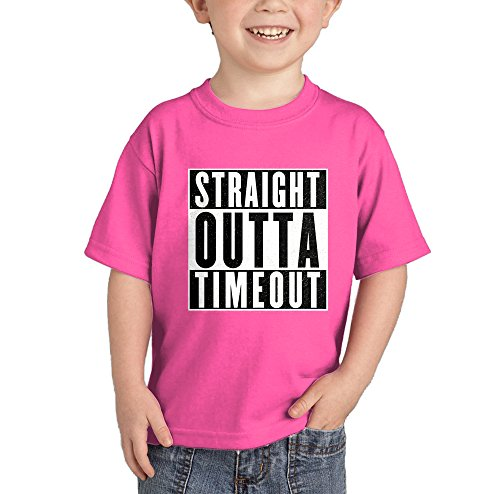 Outta Time T-shirt - HAASE UNLIMITED Straight Outta Timeout T-Shirt (Pink, 24 Months)