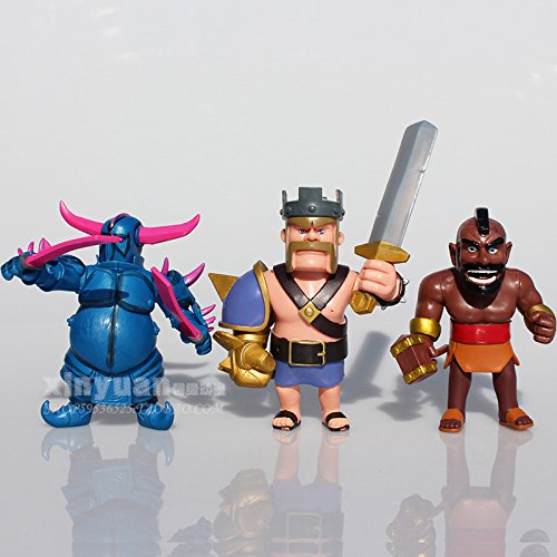 Figura de acción: Clash of Clans Pekka King Archer Wizard Witch Hog Rider Action Figure 8 Pcs: Amazon.es: Juguetes y juegos
