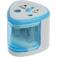 LjzlSxMF Elettrico temperamatite Migliori Heavy Duty elicoidale in Acciaio per Artisti per Bambini Adulti Matite Colorate M5TB Desktop Sharpener per Standard e matite Jumbo