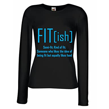 Amazon.com  lepni.me T Shirt Women Fit - Ish Definition. Exercise ... 984e10f340