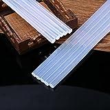 Buyeverything 5 Pcs Hot Melt Glue Sticks for Craft Electric Heating Strength Glue Gun Machine Sticker - Clear High Temperature Melting Glue Gun Kit
