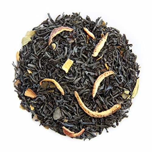 Basilur | Tangerine Black Tea | Ceylon Black Tea with with Tangerine peel, Orange flower, Vanilla & Cream | Non GMO Whole Leaf Tea | 100g /3.52 oz. | Pack of 2