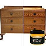 Wood Polish Seasoning Complete Solution Furniture Care Beeswax Cleaning, Wood Care Nutrition Wax, Wood Maintenance Home Cleaning Beeswax (1 x Wood Seasoning Beewax)