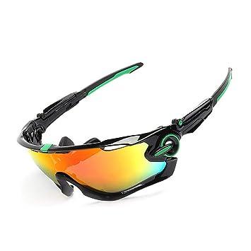 XBECO Gafas De Sol Deportivas MS Gafas De Sol para Esquí De ...