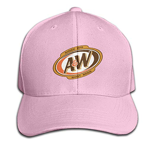 JohnnyKJay Cap A&W Root Beer Logo Fashion The Hat with Baseball Hat ()
